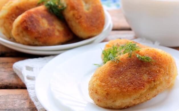 Зразы картофельные с грибами - пошаговый рецепт с фото на Повар.ру