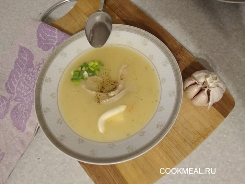 Куриный крем-суп: 4 рецепта